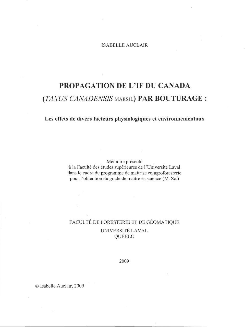 Propagation De L If Du Canada Pdf Free Download