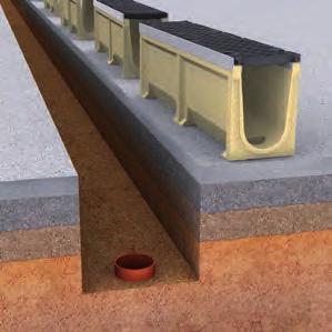 drainage q caniveau u