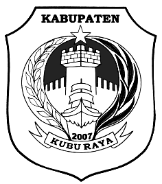 Logo Kubu Raya Hitam Putih