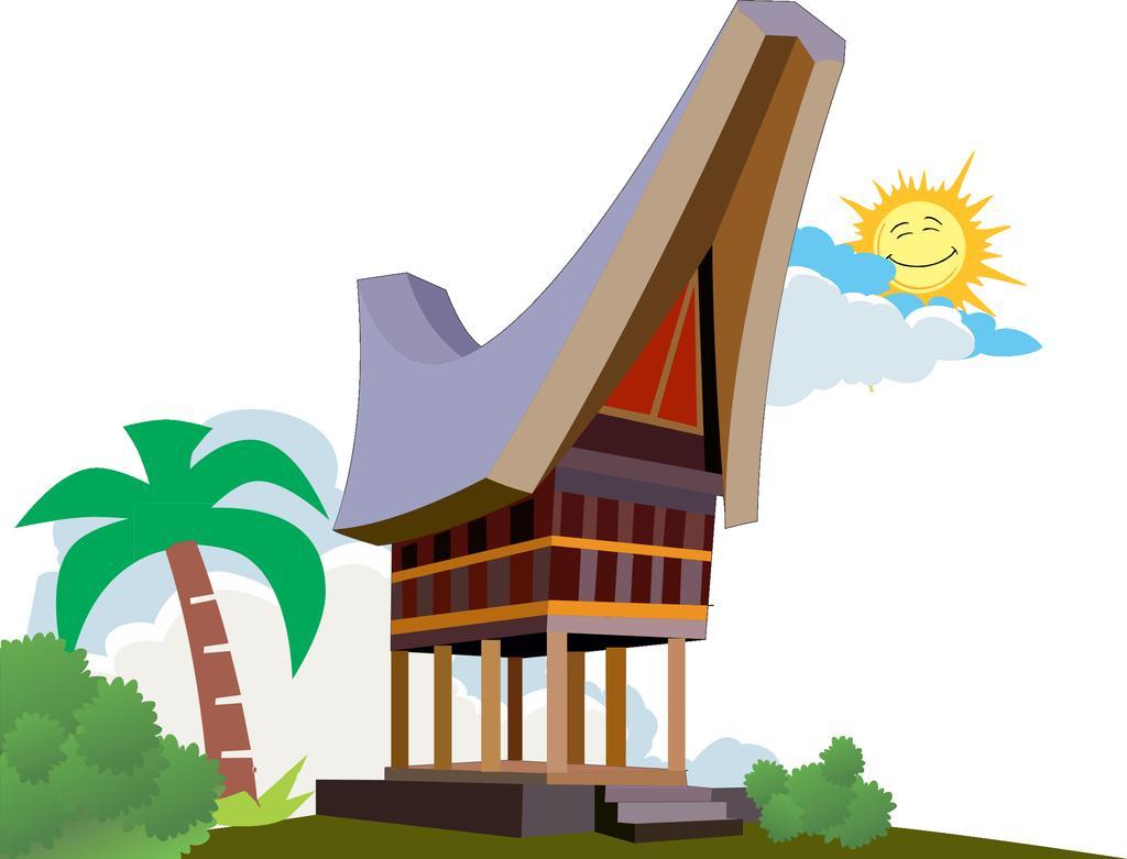 Rumah Adat Joglo Animasi Rumah Joglo Limasan Work