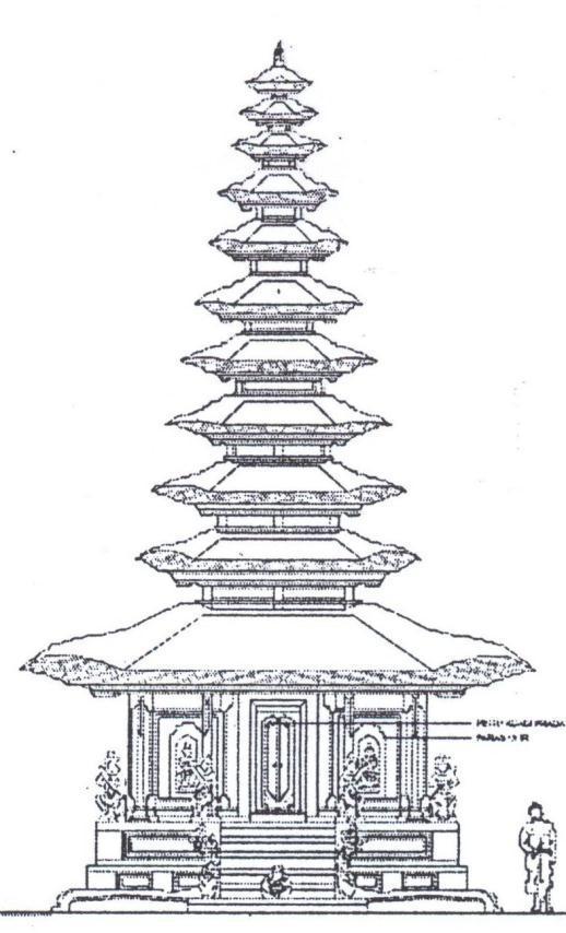 Mewarnai Rumah Adat Bali : mewarnai, rumah, Contoh, Gambar, Mewarnai, Rumah, KataUcap