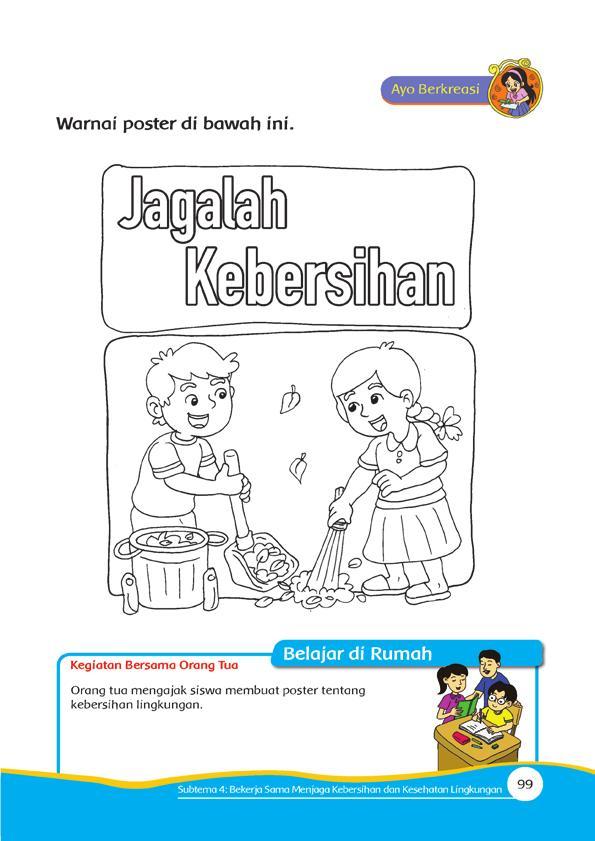 Gambar Tentang Kebersihan : gambar, tentang, kebersihan, Mewarnai, Poster, Kebersihan, Lingkungan, Sekolah, Sweet, Hunniteah