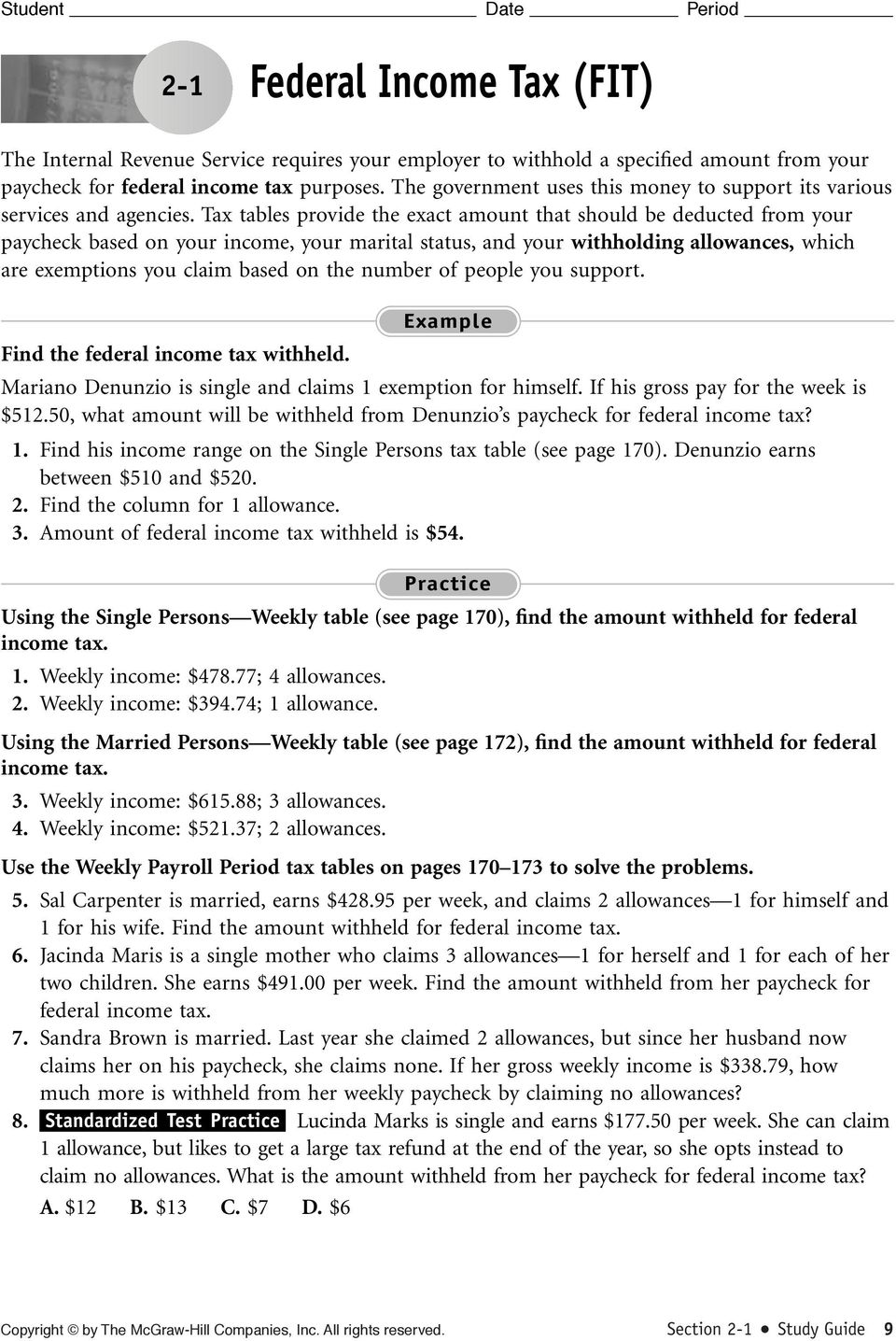 Calculating Straight Time Pay Pdf Free Download