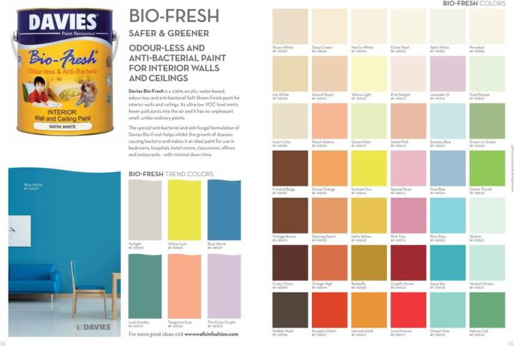 Davies Elastomeric Paint Color Chart Irfandiawhite