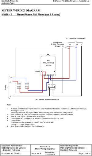 431 BAU Meter Wiring Diagrams  PDF
