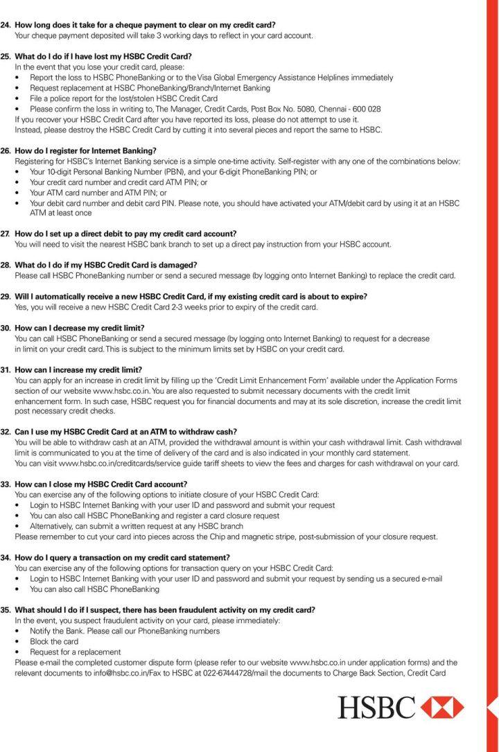 Hsbc Credit Card Bill Payment Neft | Kayacard co