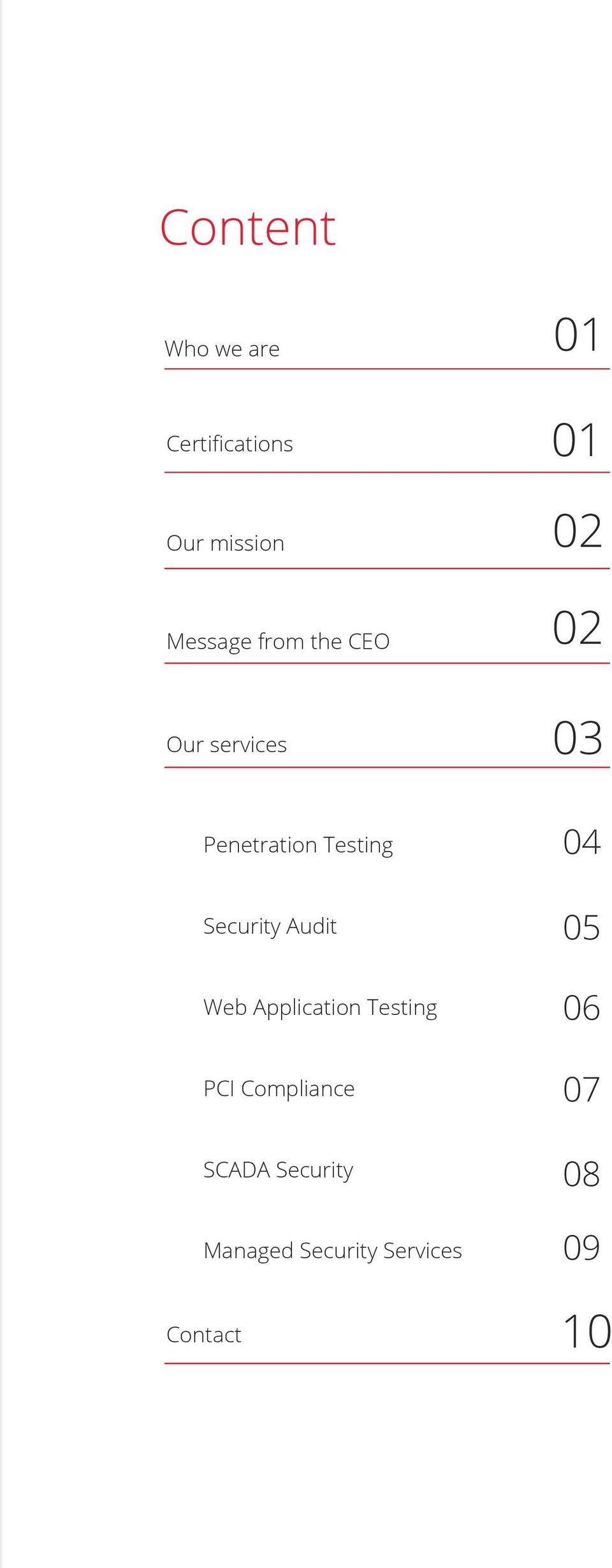 Security Audit Web