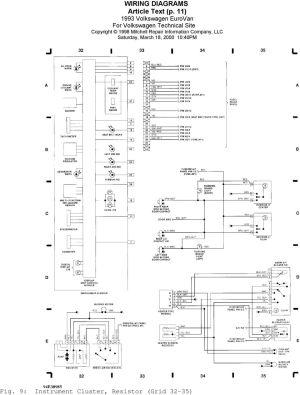 1993 WIRING DIAGRAMS Volkswagen Wiring Diagrams