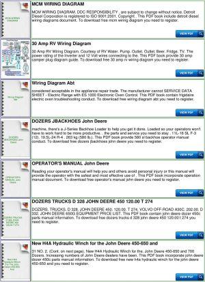 John Deere 450 Wiring Diagram | Online Wiring Diagram