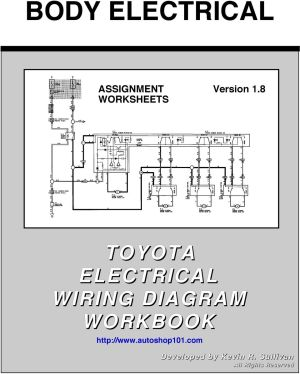 BODY ELECTRICAL TOYOTA ELECTRICAL WIRING DIAGRAM WORKBOOK