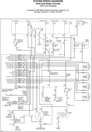 SYSTEM WIRING DIAGRAMS Air Conditioning Circuits 1997 Ford