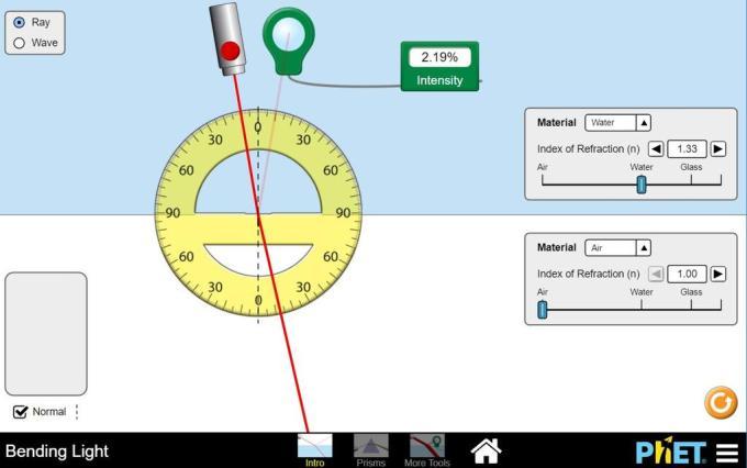 Bending Light Simulation Lab Answers | Adiklight.co