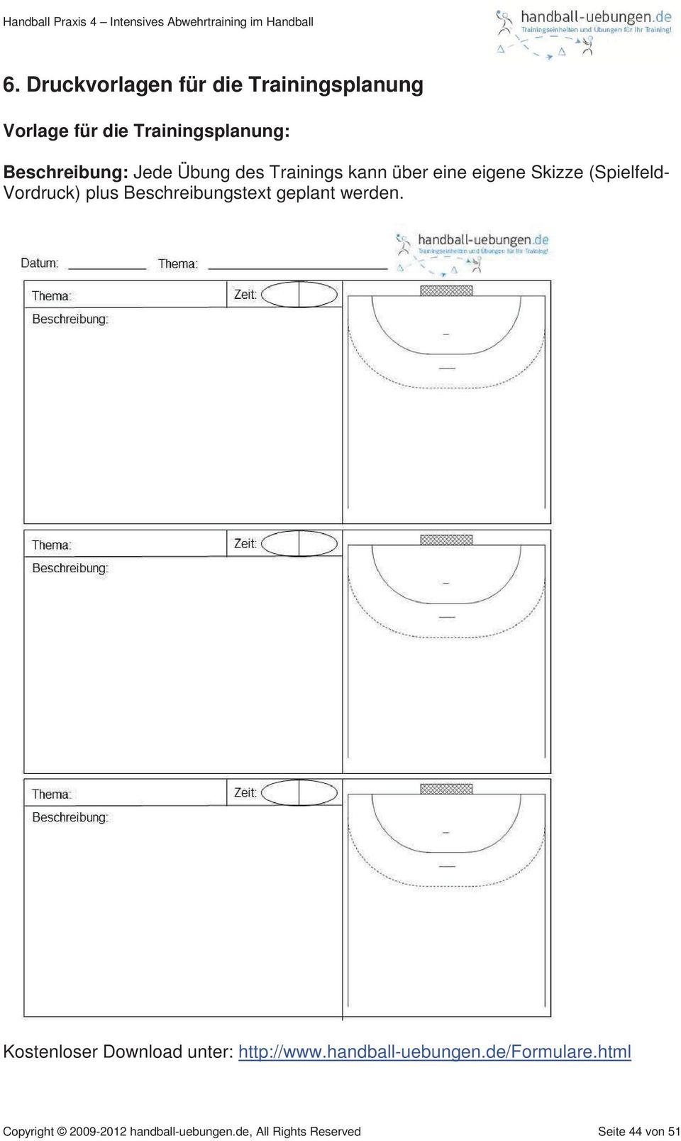 handball praxis 4 komplette