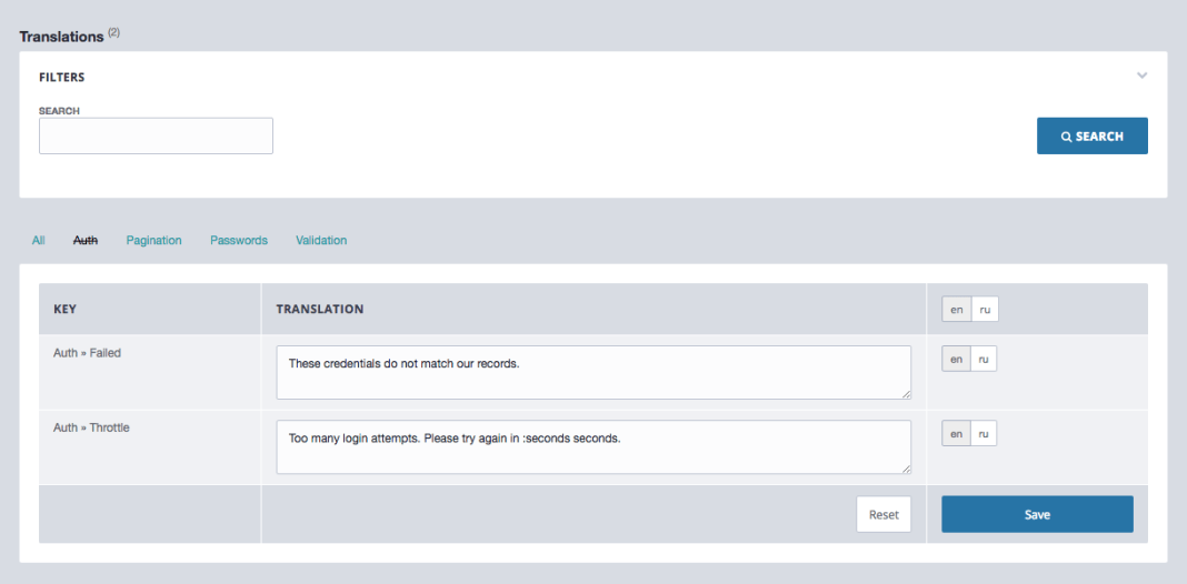 , Admin Architect – Administration Framework for Laravel, Laravel & VueJs