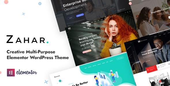 Creative Multipurpose Elementor WordPress Theme