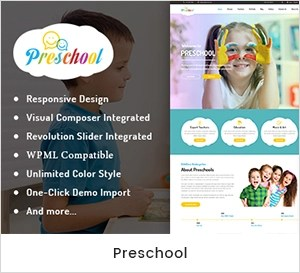 Preschools Grocery Nursery School and School WordPress Theme