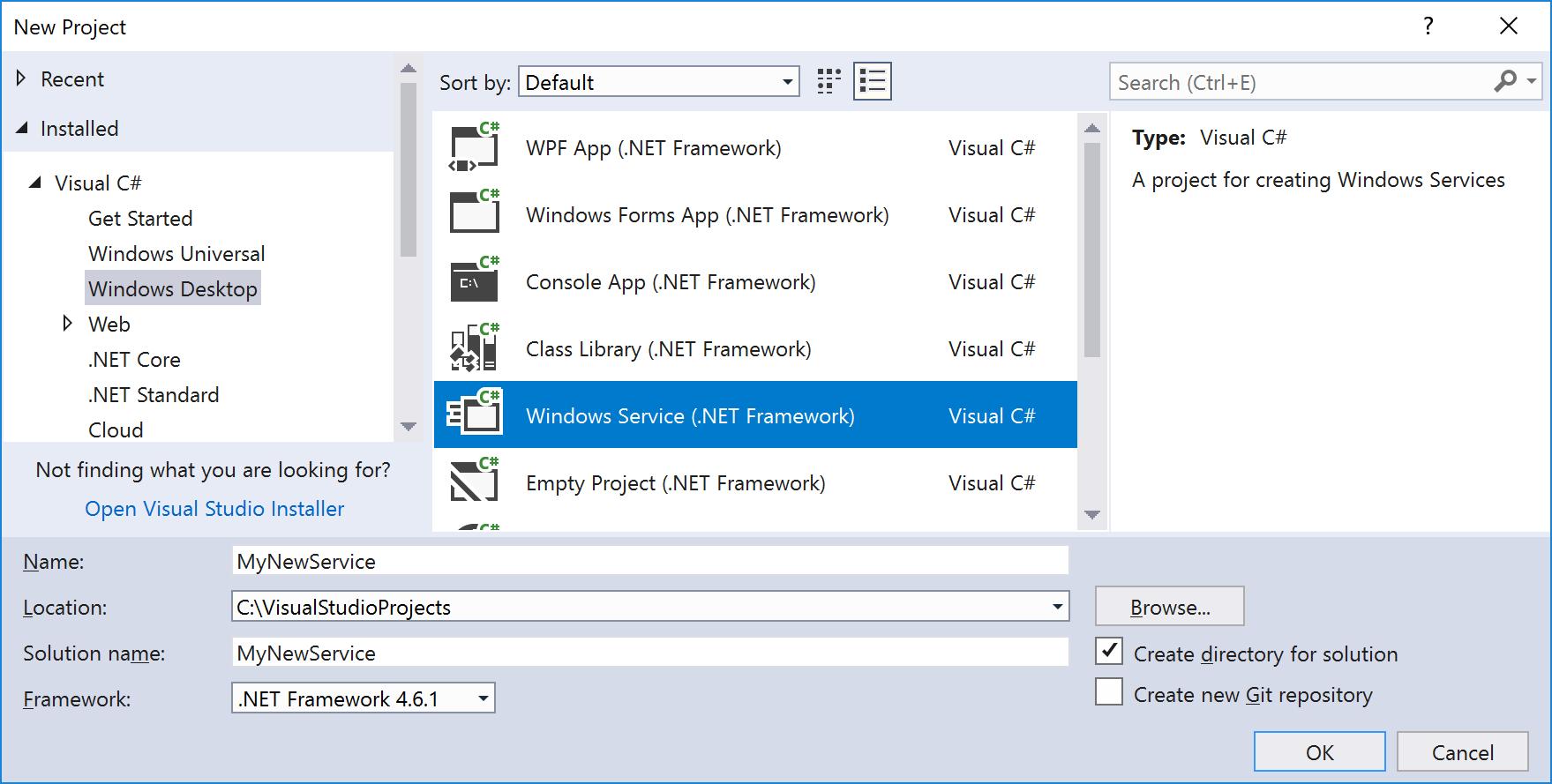 Tutorial Erstellen Einer Windowsnst App