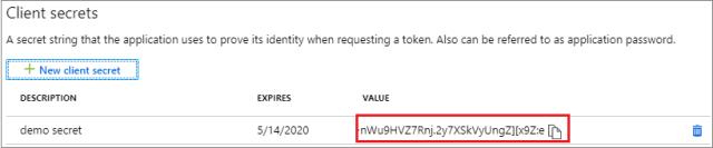 Register application in Azure portal