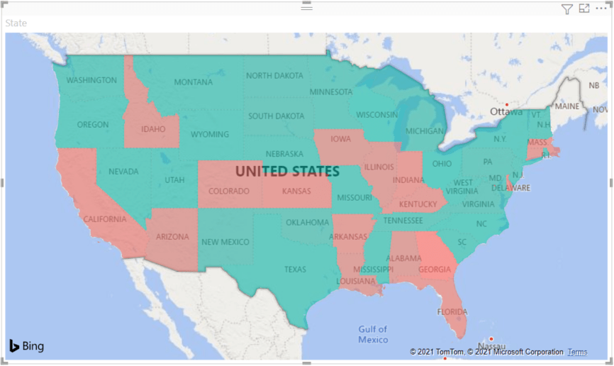 Filled Maps Choropleth In Power Bi Power Bi Microsoft Docs