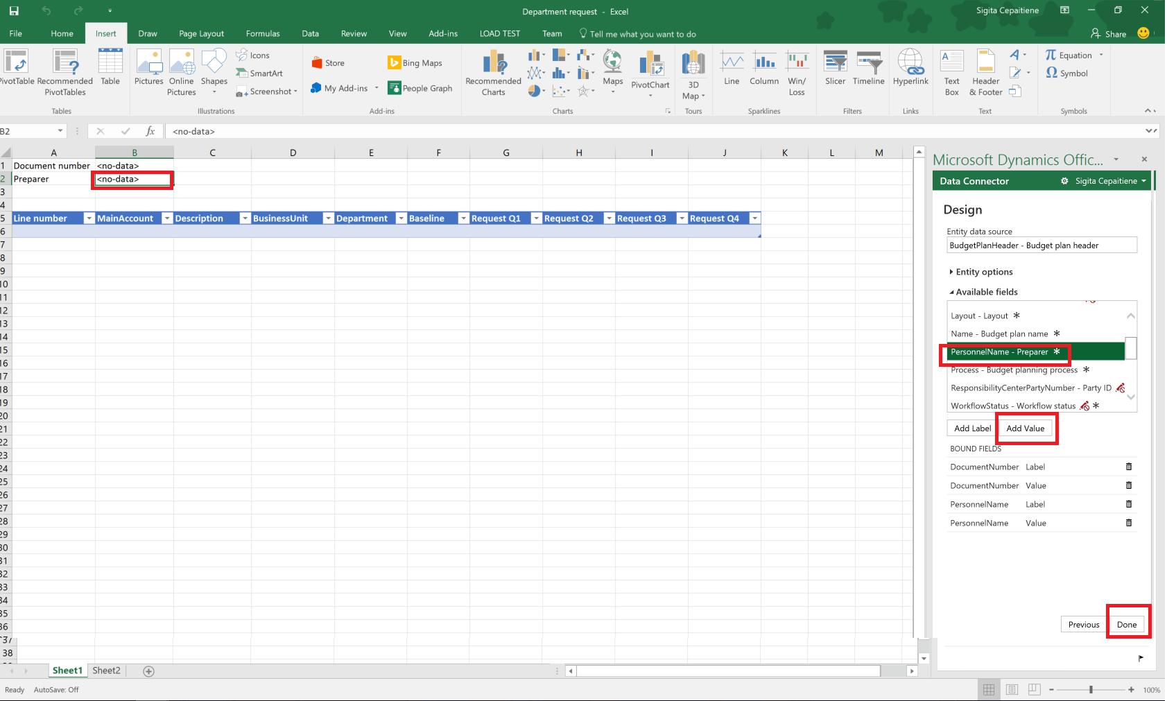 Budsjettplanleggingsmaler For Excel