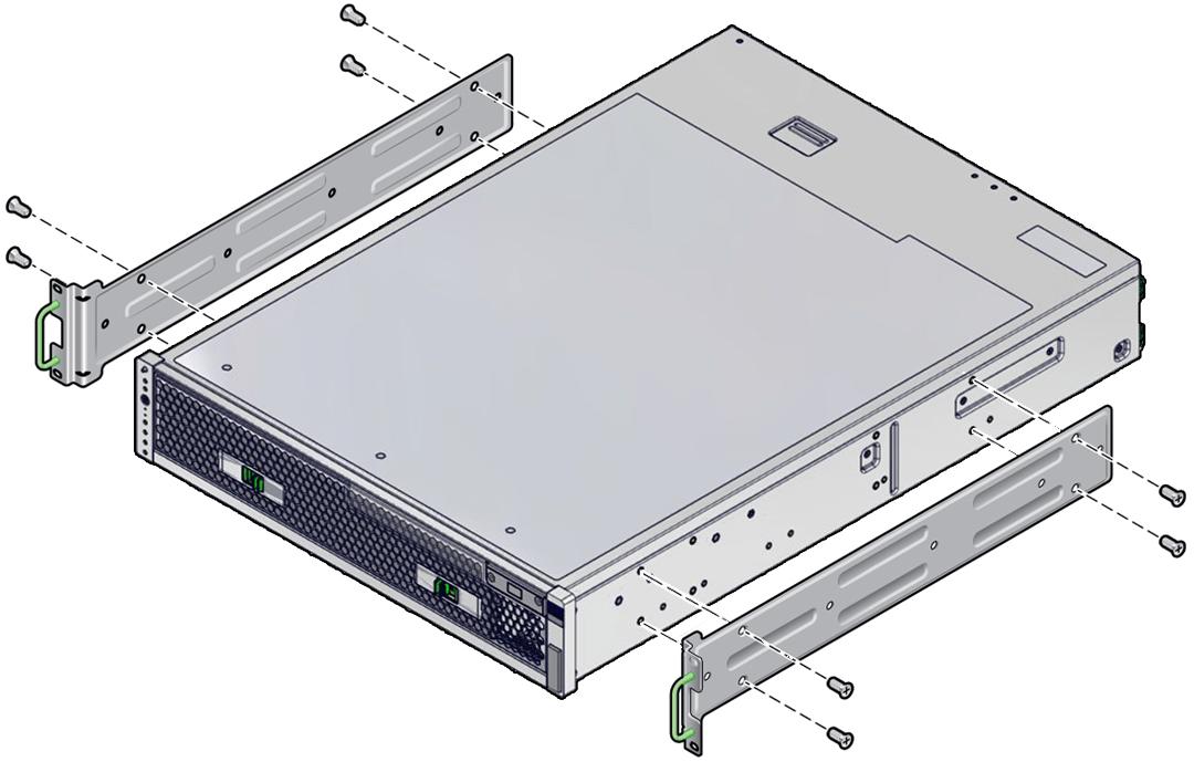 19 inch sliding rails with cma rack kit