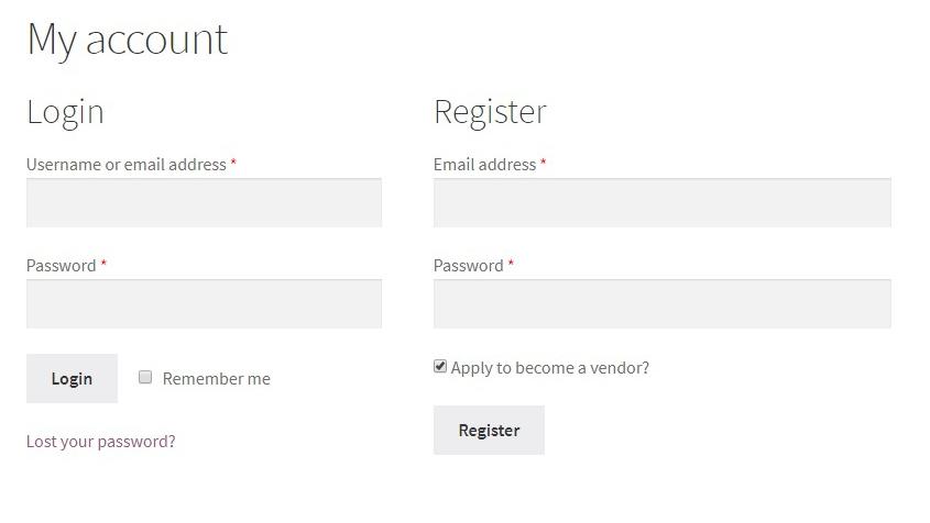 WC Vendors: User Registration & Vendor Management
