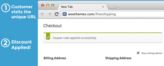 WooCommerce URL Coupons How it Works