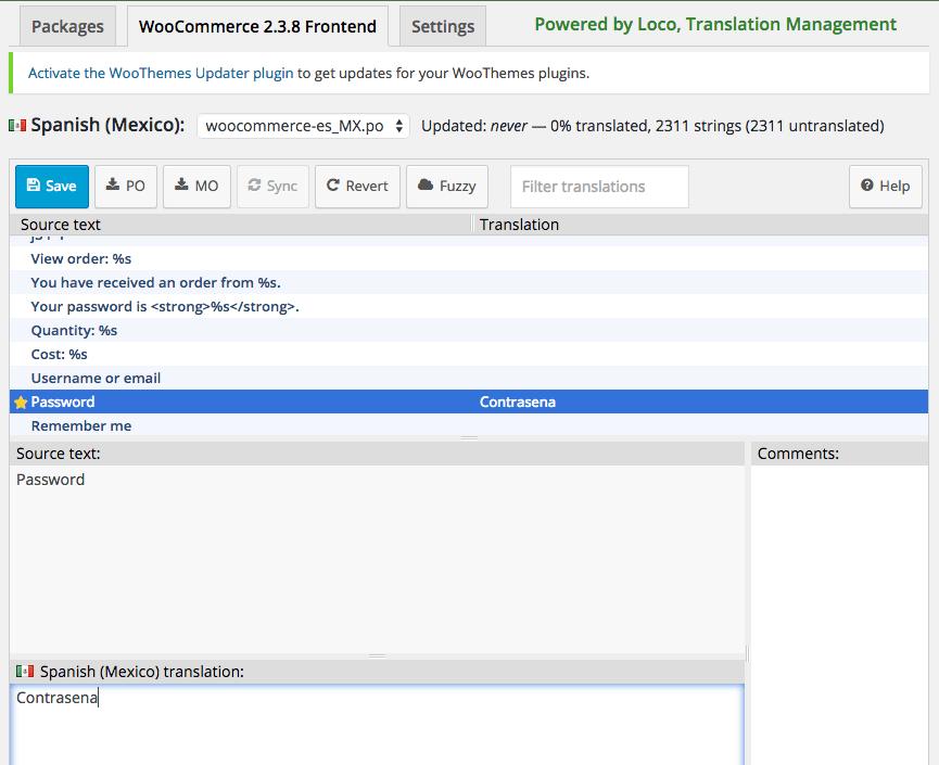 Loco Translate: Start translating!