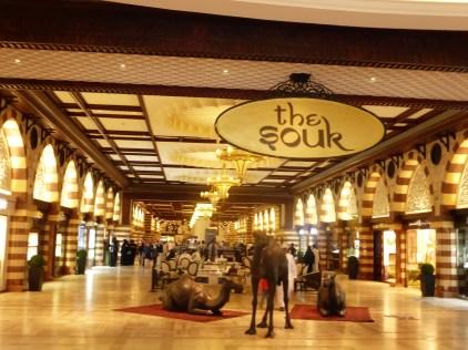 Souk inside Dubai Mall