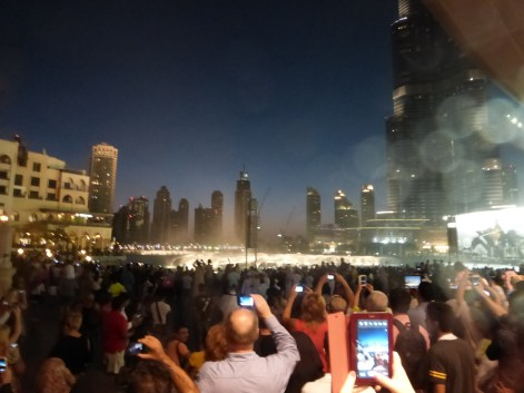 At the Dancing fountains