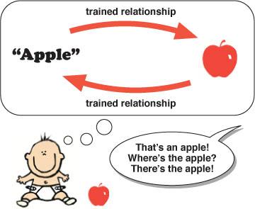 child learning language