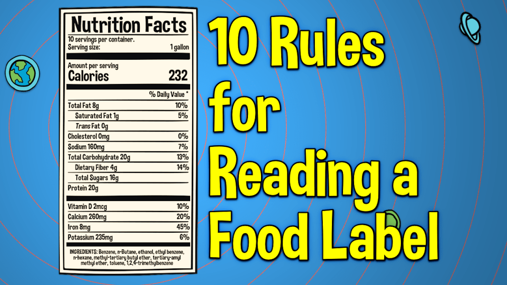 10 Rules for Reading a Food Label