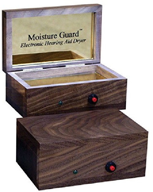 Moisture Guard Electronic Hearing Aid Dryer