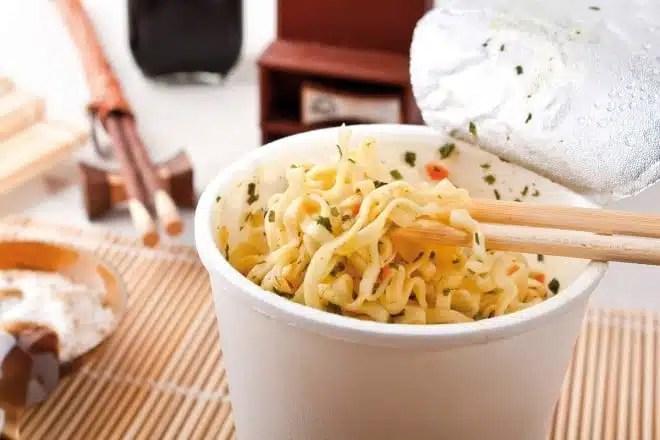 Dangers des soupes instantanees