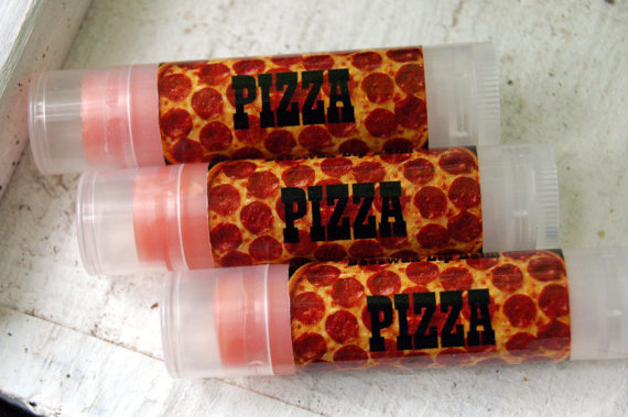 baume à lèvres goût pizza idée fun cadeau