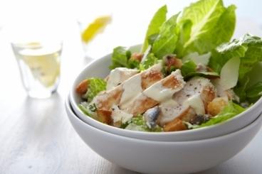 Salades d'étés - Recette de salade ceasar au poulet grillé