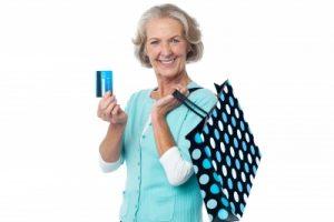 shopping dépenses senior