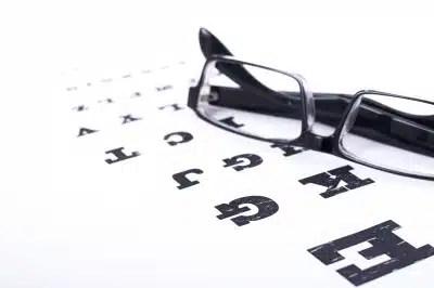 Vue vision santé des yeux