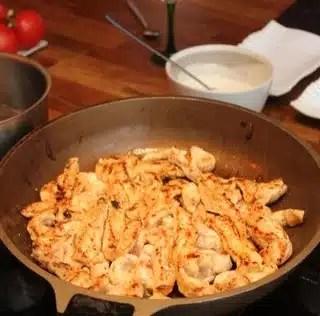 Ingrédients nécessaires pour la réalisation du Kebab Diététique