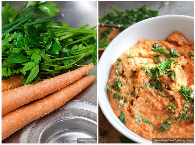 recettes pesto aux carottes