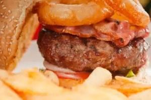 burger riches en graisses saturees