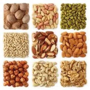 bienfaits arachides noix amandes santé