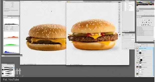 difference burger publicite vs realite