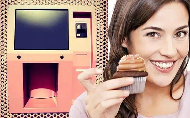 Lancement du premier distributeur automatique de cupcakes!