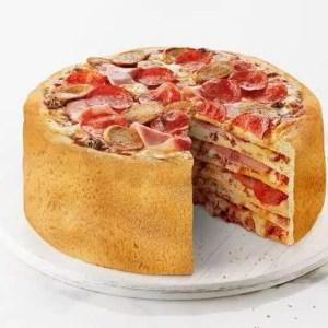 gateau pizza alimentation insolite