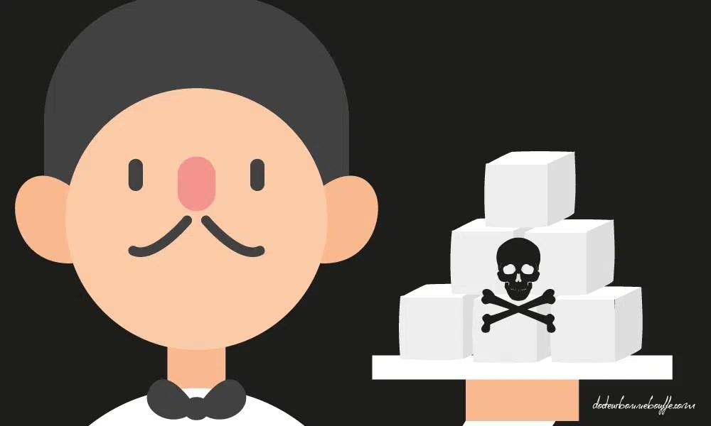 sucre raffine dangers