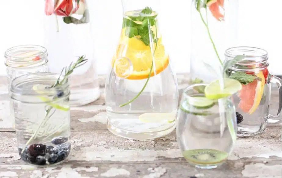 Idees recettes eaux aromatisees fait maison