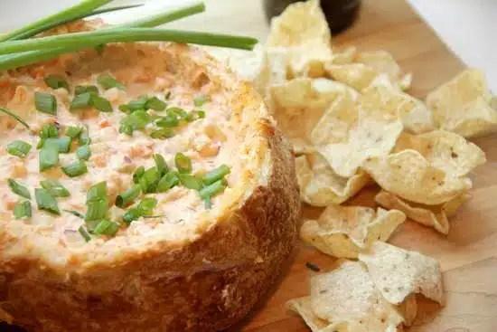 Soupe crevettes bol de pain