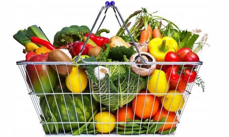 Panier de légumes alimentation santé