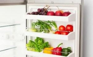 Alimentation saine refrigerateur frigo